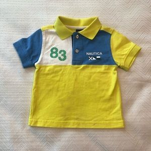 Boys Nautica Polo Shirt.  18 months. EUC.